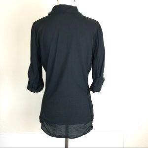 James Perse Tops - James Perse Slub Shirt Black Size 3 (Medium)